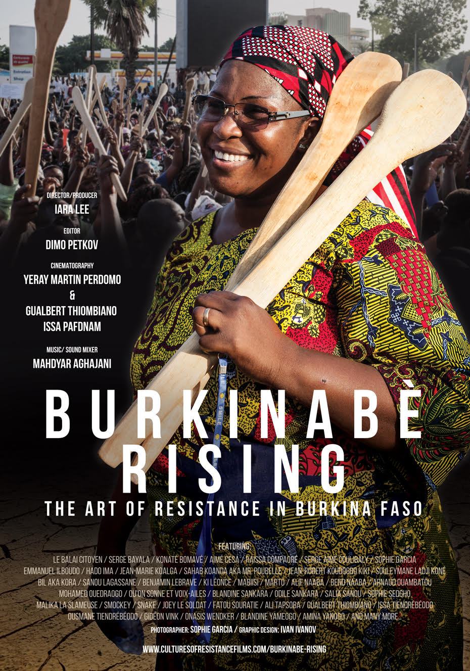 BURKINABÉ RISING POSTCARD/GRAPHIC