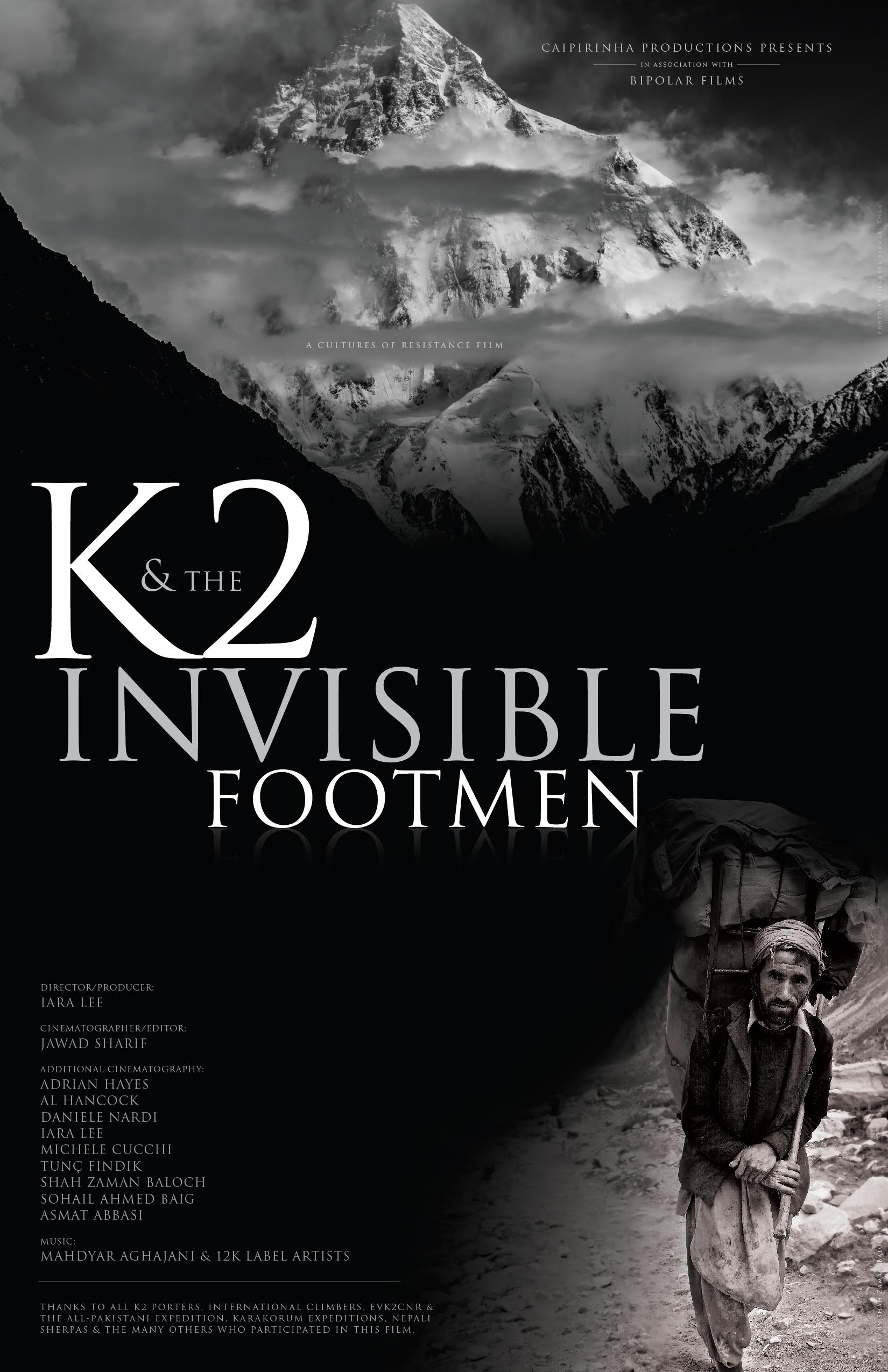 K2 and the Invisible Footmen: Screenings | Cultures of Resistance Films